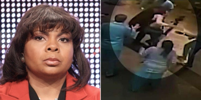 CNN's April Ryan has not condemned an apparent attack on a New Jersey reporter by her bodyguard.