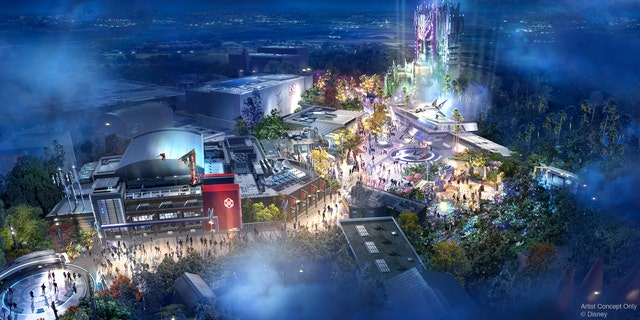 """The Avengers Campuses will be presented as Avengers recruitment areas, where guests can """"experience for themselves what it is like to have the abilities of a Super Hero."""""""