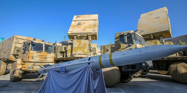 Westlake Legal Group Bavar-373-system Iran unveils new long-range missile system in latest show of military force Greg Norman fox-news/world/world-regions/middle-east fox-news/world/conflicts/iran fox-news/world/conflicts fox news fnc/world fnc article 7b8dcb09-ad0c-511d-8163-31af8f0808cf