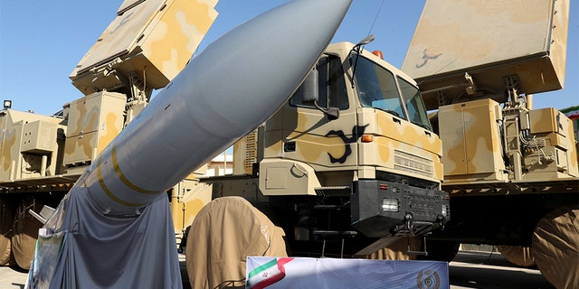 Westlake Legal Group Bavar-373 Iran unveils new long-range missile system in latest show of military force Greg Norman fox-news/world/world-regions/middle-east fox-news/world/conflicts/iran fox-news/world/conflicts fox news fnc/world fnc article 7b8dcb09-ad0c-511d-8163-31af8f0808cf