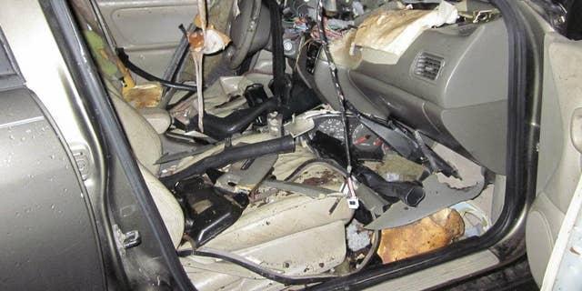Westlake Legal Group BearCar 'Vandal' bear wrecks car after getting locked inside James Rogers fox-news/science/wild-nature/mammals fox news fnc/science fnc article 494253de-76b9-5882-82f4-456897f47d59