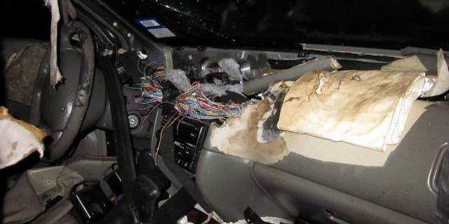 Westlake Legal Group BearCar3 'Vandal' bear wrecks car after getting locked inside James Rogers fox-news/science/wild-nature/mammals fox news fnc/science fnc article 494253de-76b9-5882-82f4-456897f47d59
