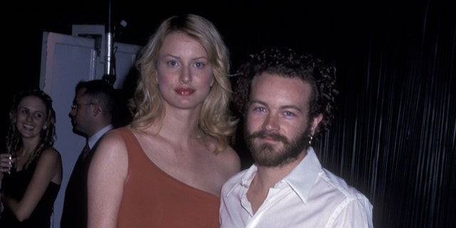 Danny Masterson and Chrissie Carnell in a 2001 file photo.