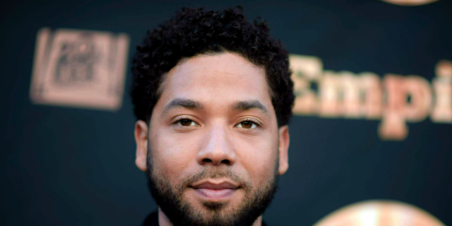 "FILE - In this May 20, 2016 file photo, actor and singer Jussie Smollett attends the ""Empire"" FYC Event in Los Angeles. Fox Entertainment chief Charlie Collier says Jussie Smollett won't be back on ""Empire."" (Richard Shotwell/Invision/AP, File)"