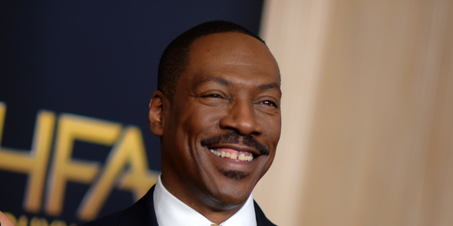 Eddie Murphy is seen at the 20th annual Hollywood Film Awards in Beverly Hills, Calif., Nov. 6, 2016. (Associated Press)