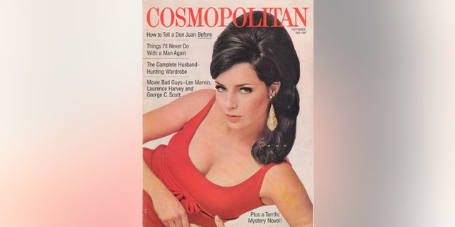 Jennifer O'Neill on the cover of Cosmopolitan, circa 1966.