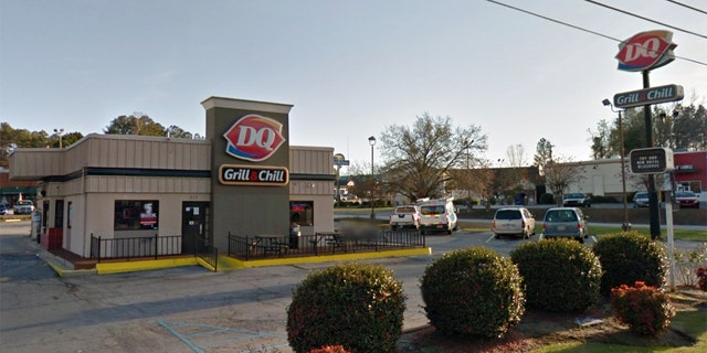 Saif Momin, manager of the Dairy Queen at Greenwood, SC, said he was shut down.