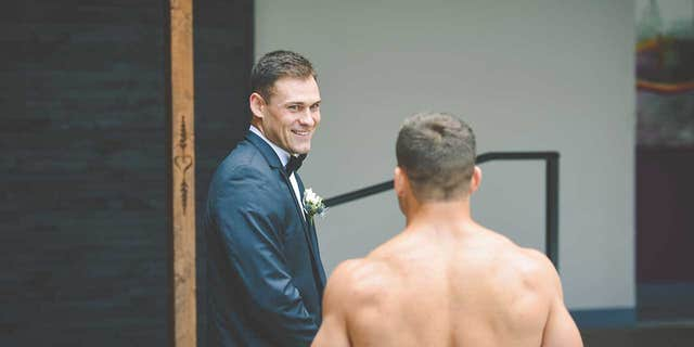 The prank was actually the bride-to-be's idea — and the best man was more than happy to help out.