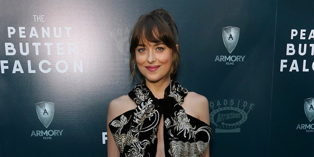 "Dakota Johnson attends the LA Special Screening of ""The Peanut Butter Falcon"" at The ArcLight Hollywood on Thursday, Aug. 1, 2019."