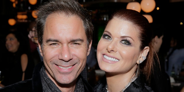 Eric McCormack and Debra Messing called on those attending an upcoming Trump fundraiser to be identified publicly. (Chris Haston/NBC/NBCU Photo Bank via Getty Images, File)