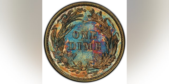 Westlake Legal Group Dime1894 Extremely rare 1894 dime once owned by Jerry Buss sells for $1.3M James Rogers fox-news/science/archaeology/history fox-news/science/archaeology/culture fox-news/columns/digging-history fox news fnc/science fnc article 7eb179db-3afc-5f4f-bcb2-a0465ca69e4a