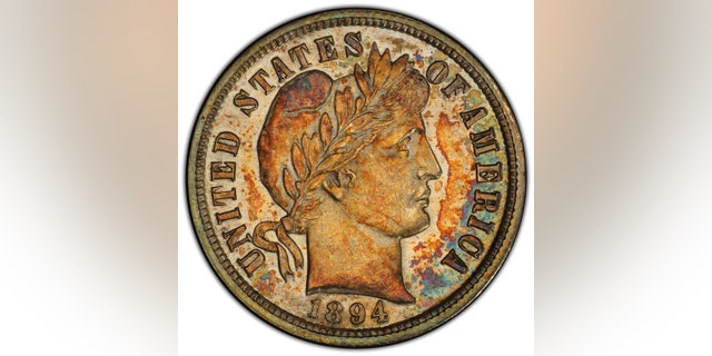 Westlake Legal Group Dime18942 Extremely rare 1894 dime once owned by Jerry Buss sells for $1.3M James Rogers fox-news/science/archaeology/history fox-news/science/archaeology/culture fox-news/columns/digging-history fox news fnc/science fnc article 7eb179db-3afc-5f4f-bcb2-a0465ca69e4a