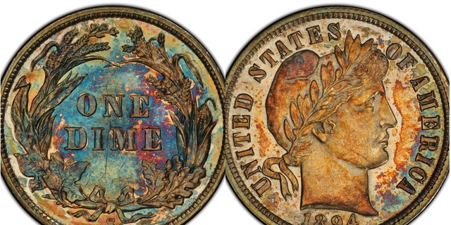 Westlake Legal Group Dime1894Split Extremely rare 1894 dime once owned by Jerry Buss sells for $1.3M James Rogers fox-news/science/archaeology/history fox-news/science/archaeology/culture fox-news/columns/digging-history fox news fnc/science fnc article 7eb179db-3afc-5f4f-bcb2-a0465ca69e4a