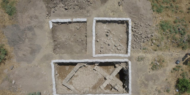 The southern rooms of the church have been uncovered. (Zachary Wong)