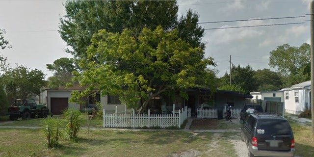 An external shot of 742 Southwest Boulevard N St. Petersburg, Fla.
