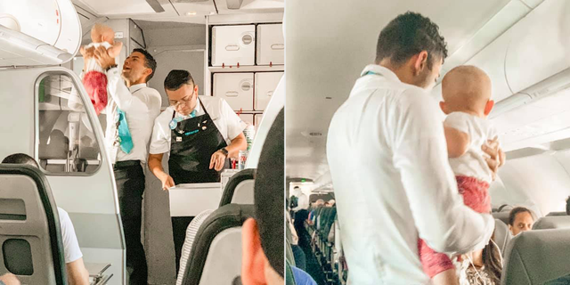 "Flight attendant Joel O Paris Castro said he always tries to give passengers the best experience possible. ""I bet my mother could've used a couple of breaks when I was growing up,"" he added."