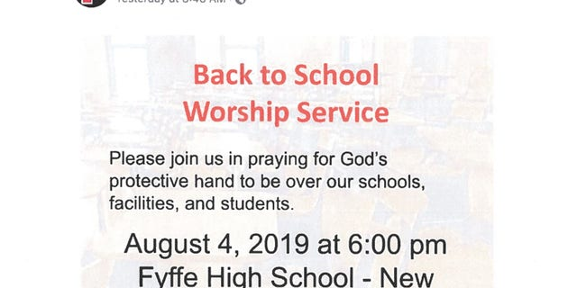 "The Freedom From Religion Foundation called for an investigation into a ""back-to-school worship service"" held at an Alabama high school, but officials say it's a community event not affiliated with the school."