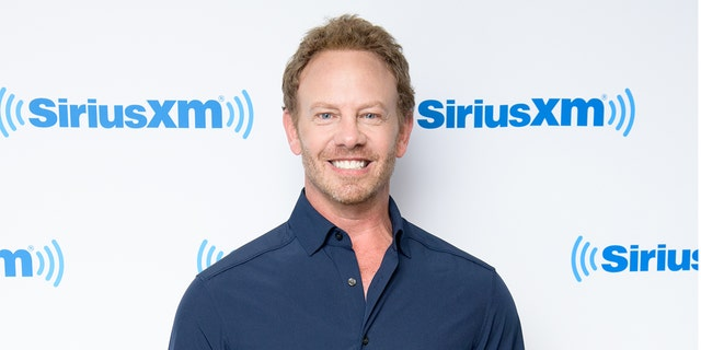 Ian Ziering visits SiriusXM Morning Mash Up at SiriusXM Studios on August 16, 2018 in New York City. (Photo by Noam Galai/Getty Images)