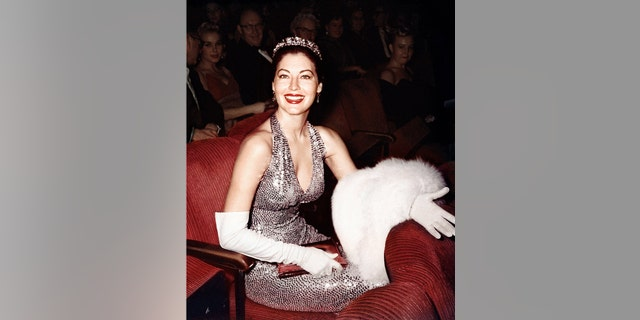 Actress Ava Gardner in the audience of the Academy Awards ceremony on April 4, 1960, in Los Angeles. (Photo by Frank Worth, Courtesy of Capital Art/Getty Images)