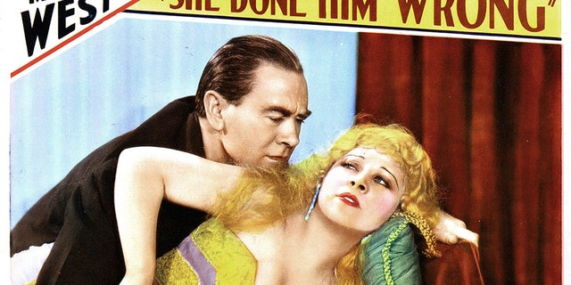 """She Done Him Wrong,"" lobby card, from left, Owen Moore, Mae West, 1933. (Photo by LMPC via Getty Images)"