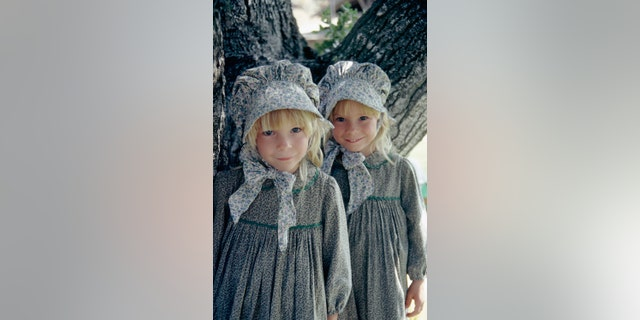 "Brenda and Wendi Turnbaugh as Grace Ingalls in ""Little House on the Prairie."""