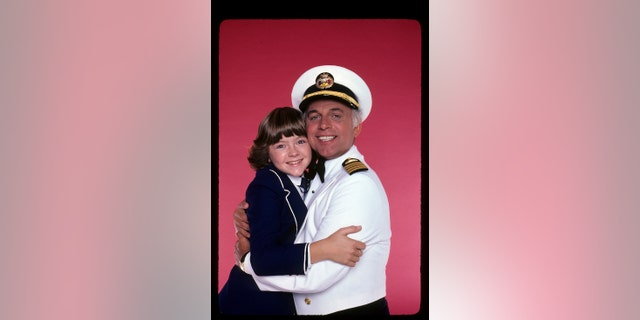 "Gavin MacLeod and Jill Whelan from ""The Love Boat"" circa 1979. — Photo by Walt Disney Television via Getty Images"