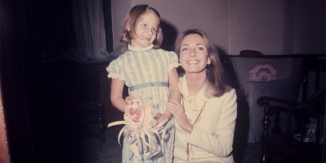 Jennifer O'Neill with her daughter Aimee in 1972. 鈥� Photo by Art Zelin/Getty Images