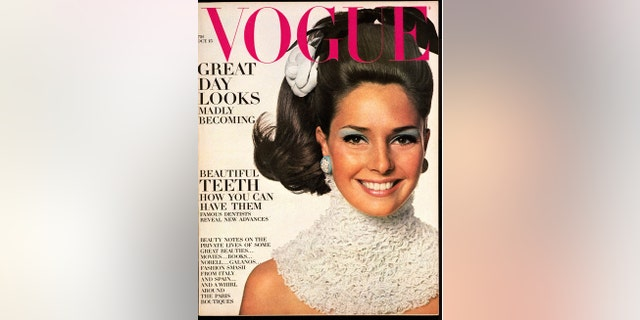 Jennifer O'Neill on the cover of Vogue.