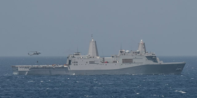 The USS Green Bay, seen here, had been scheduled for a port visit on Saturday. (U.S. Navy photo by Mass Communication Spc. 3rd Class Kevin V. Cunningham, File)