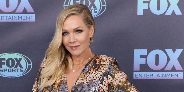 Jennie Garth attends the 2019 Fox Upfront at Wollman Rink, Central Park on May 13, 2019 in New York City. (Photo by Taylor Hill/FilmMagic)