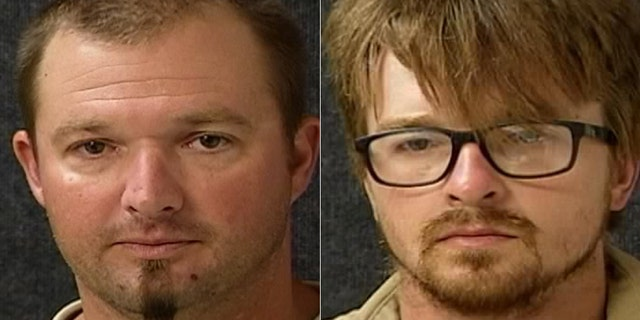 """Jeremy Radford, left, and Jamison Nejezchleb, right, were also among the suspects. Investigators said the situation stemmed from a """"work-related issue."""""""