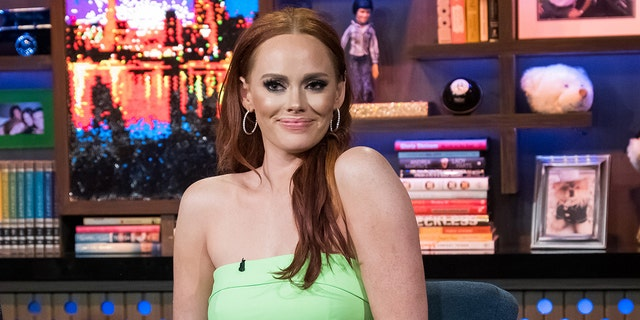 """""""Southern Charm"""" star Kathryn Dennis, pictured here, is mourning the loss of her mom Allison, who died on Wednesday, according to the Berkeley County Coroner's Office."""