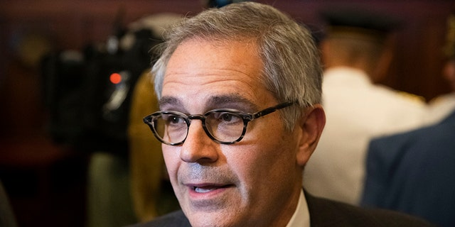 Philadelphia District Attorney Larry Krasner, seen here this past August, appeared on a list of potential Supreme Court nominees from the progressive group Demand Justice.