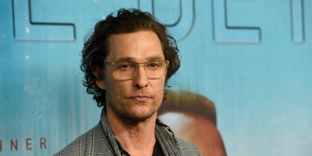 Actor McConaughey named professor at University of Texas