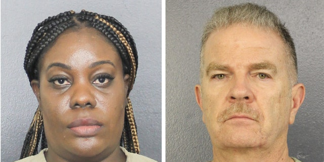 "Althia Meggie, 36, of Broward County surrendered to police around noon on Monday after Meggie and three other employees were notified last week ""that charges were being brought,"" her attorney told Fox News. Former home administrator Jorge Carballo, 62, was also charged in the case and reportedly was one of those who surrendered to the authorities."