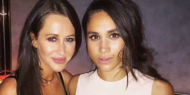 Fashion stylist Jessica Mulroney and Meghan Markle (Photo: Instagram)