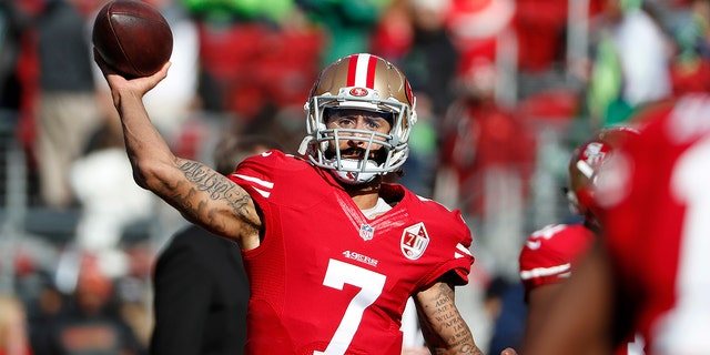 Colin Kaepernick got support from York during his time in San Francisco. (AP Photo/Tony Avelar, File)