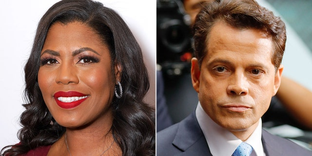 Westlake Legal Group Omarosa-Scaramucci-Getty MSNBC roasted for booking Anthony Scaramucci, Omarosa Manigault-Newman on same show fox-news/media fox news fnc/media fnc Brian Flood article 763f7f78-df2b-5ba9-9230-ef75d8523c61