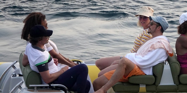 Oprah Winfrey, Bradley Cooper, Orlando Bloom and Katy Perry visited Panarea and took a rubber-boat trip to a natural area forbidden to motor-boats. It was part of an ultra-exclusive Google summit on climate change.