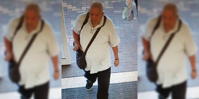 Peter Atkins, 66, didn't return to his psychiatric hospital after running to the grocery store on Thursday, officials said.
