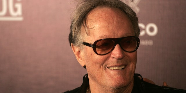 Peter Fonda, pictured earlier this year at the Guadalajara International Film Festival 2019 in Mexico. (Photo by Leonardo Alvarez Hernandez/Getty Images)