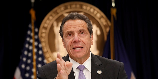 New York Governor Andrew Cuomo used an uncensored version of the N-word during a radio interview. (REUTERS/Shannon Stapleton)