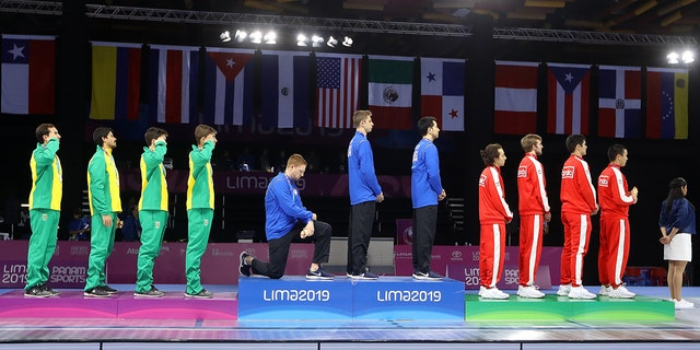 Westlake Legal Group Race-Imboden-GettyImages-1167100212 US fencer takes knee at Pan Am Games in protest Robert Gearty fox-news/sports fox news fnc/sports fnc f4a9b966-1ed2-5d50-90cb-5e6111d76379 article