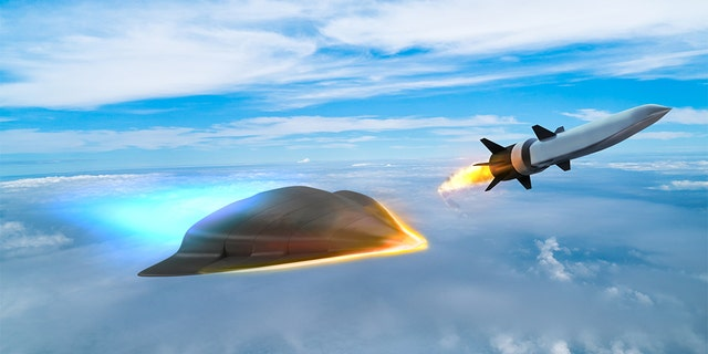 Artist's impression of hypersonic technology.