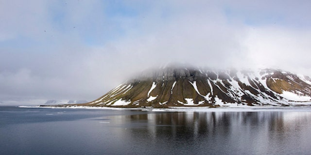 The islands are on the coast of the remote Novaya Zemlya archipelago in the Arctic Ocean.