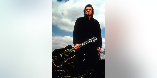 Johnny Cash, circa mid-1990s.