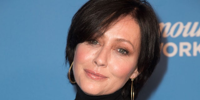 Actress Shannen Doherty attends Paramount Network Launch Party at Sunset Tower on January 18, 2018 in Los Angeles, California. (Photo by Earl Gibson III/Getty Images)