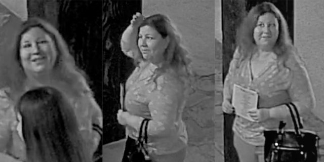 "The Comal County Sheriff's Office is looking for ""The Wedding Crasher,"" a woman who arrives uninvited at area weddings, posing as a guest, and then steals gifts."