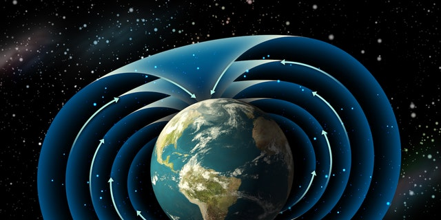 Earth's north and south magnetic poles flip-flop over long timescales. New research into volcanic rocks may explain how it happens.