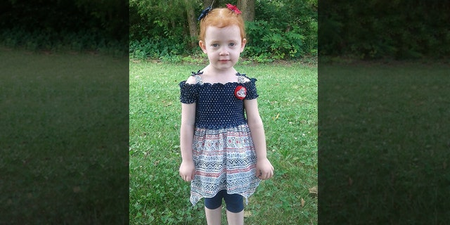 Vivian Fitzenrider, 3, went missing in Missouri on Tuesday and was found dead the next day, authorities announced on Wednesday.